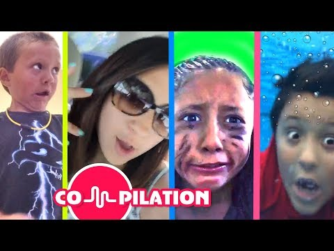FUNnel Vision Family LIP SINGING Compilation of Short Skits & Music Clips Videos 4 Youtube Kids