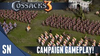 Cossacks 3 - Campaign Gameplay - Roundheads vs Cavaliers - Part 1