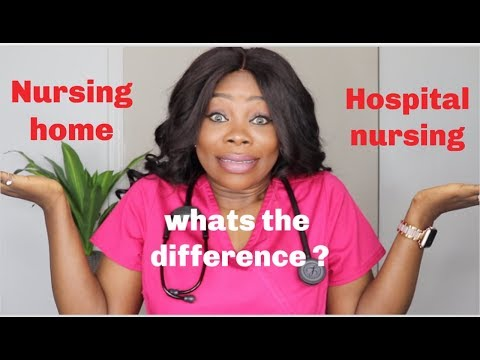 The Real Difference Between Hospital Nursing And Nursing Homes | Detailed Explanation
