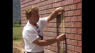 Masonry tricks of the trade: Corner Poles and Masonry Tape Measures