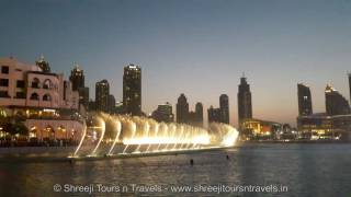Dubai Musical Fountain @ BurjKhalifa