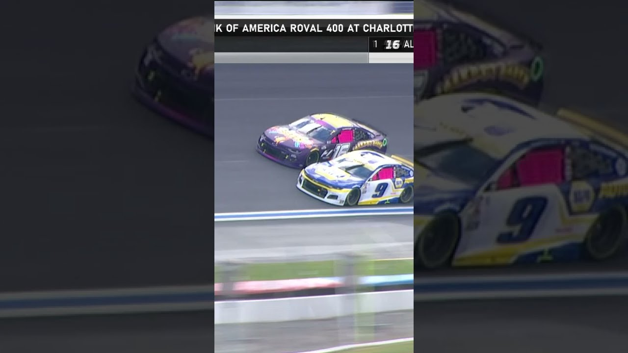 WHAT A MOVE by Chase Elliott to win Stage 1 👏    #shorts   NASCAR