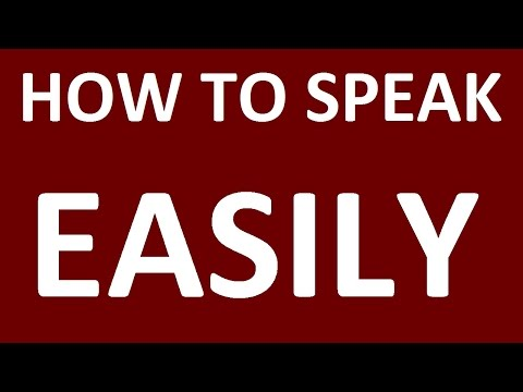 HOW TO LEARN ENGLISH SPEAKING EASILY. Learn English speaking