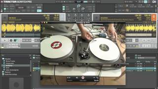 Como mixar vinil sem headphone no Traktor Scratch Pro