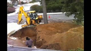 Cesspool Installation (Time-lapse)