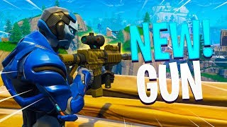 New THERMAL SCOPED ASSAULT RIFLE Gameplay in Fortnite