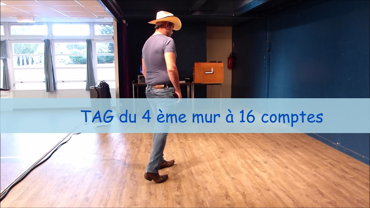 Image Danse Country hold the line - explications - danse country - youtube