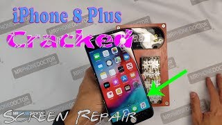 iPhone 8 Plus Cracked Screen Repair (Front Glass Only) with Laser