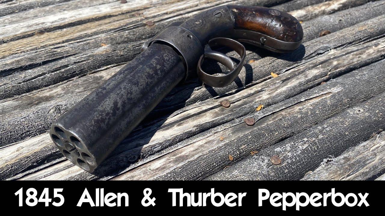 1850's Self Defense: The Allen & Thurber Pepperbox
