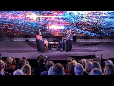 Kofi Annan interviewed at the Graduate Institute