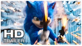 SONIC THE HEDGEHOG Trailer #1 Offizielle (NEU-2020) Animierte Film HD