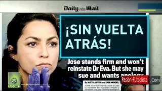 José Mourinho Insulta a Eva Carneiro 'Hija de P..a' cuando fue a tratar a Eden Hazard