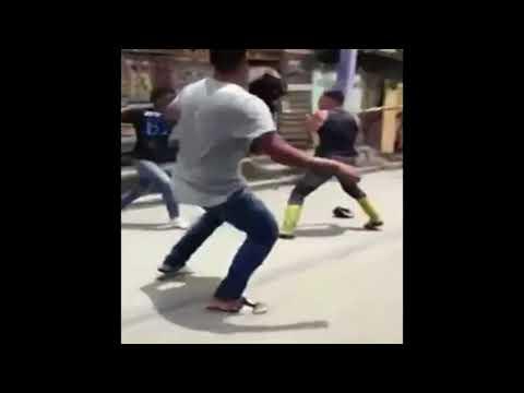 [Choc] Agression a la machette il lui coupe la main !!