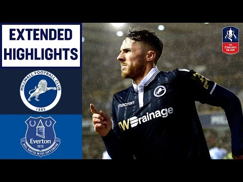 Last Gasp Wallace Winner Stuns Everton! | Millwall 3-2 Everton | Emirates FA Cup 2018/19