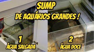 SUMP - para aquário Marinho (Grande)  e  SUMP - para aquário de Água Doce (Grande)