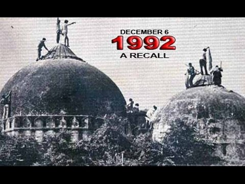 Babri Masjid demolition in Ayodhyaya...What really happened .. Real Story