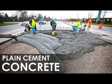Plain Cement Concrete I PCC I PCC for Floor & Road I How to do PCC work I On site Construction