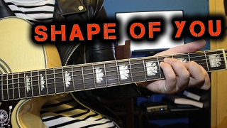 Ed Sheeran | Shape of You on Guitar (Tutorial #3)