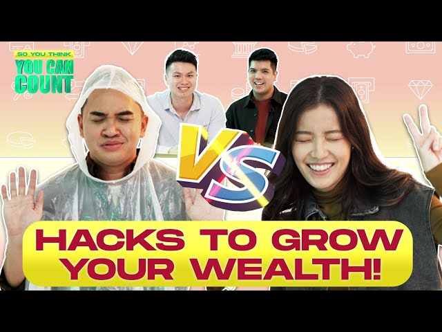 So You Think You Can Count Ep 2: Hacks to Grow Your Wealth!   Annette vs Fauzi feat. DollarsAndSense