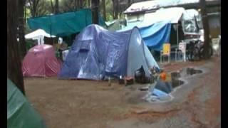 alluvione campeggio rosmarina, marina di grosseto