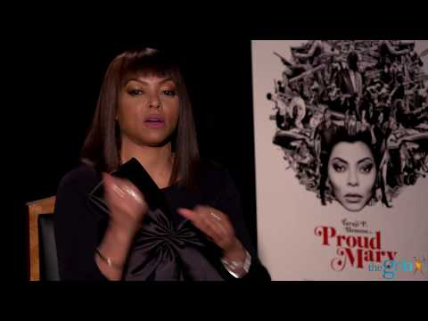 Taraji P. Henson on shooting guns and working out for 'Proud Mary'