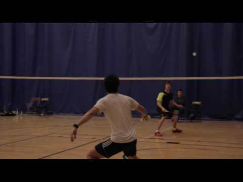 Hawk Game Report Badminton Jonathan Young VS Paul Antonie, January 6th, 2017