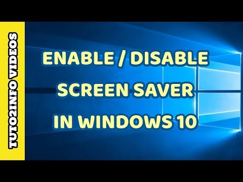How to Enable or Disable Screen Saver In Windows 10 ...