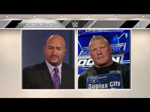 ESPN SportsCenter - Brock Lesnar - 2/16/2016