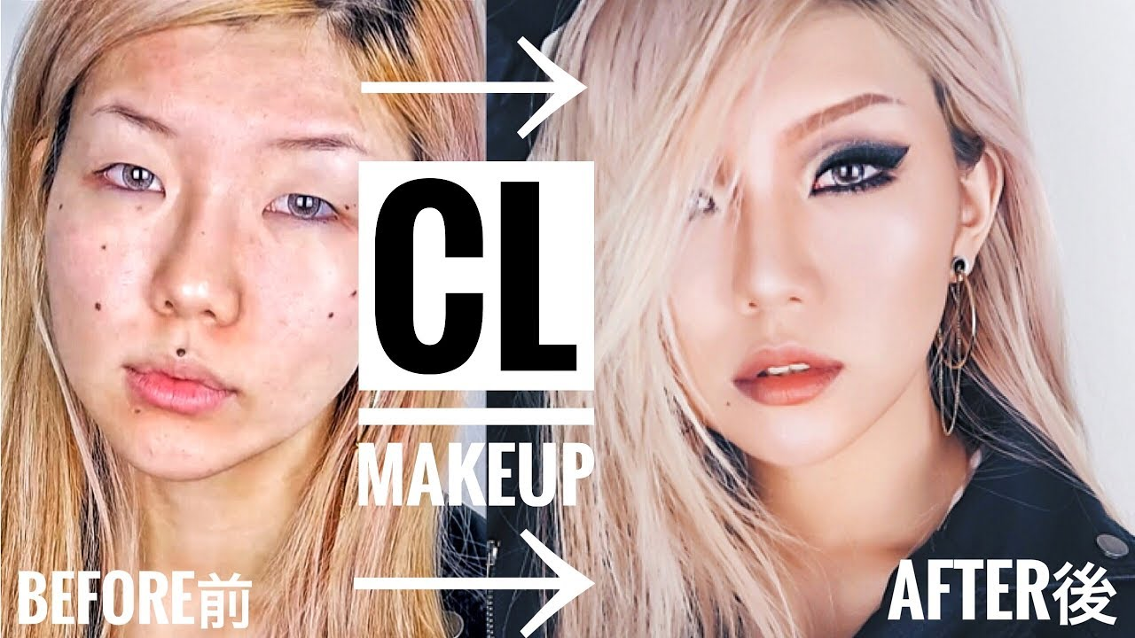 HOW TO LOOK LIKE A KPOP STAR: CL makeup transformation