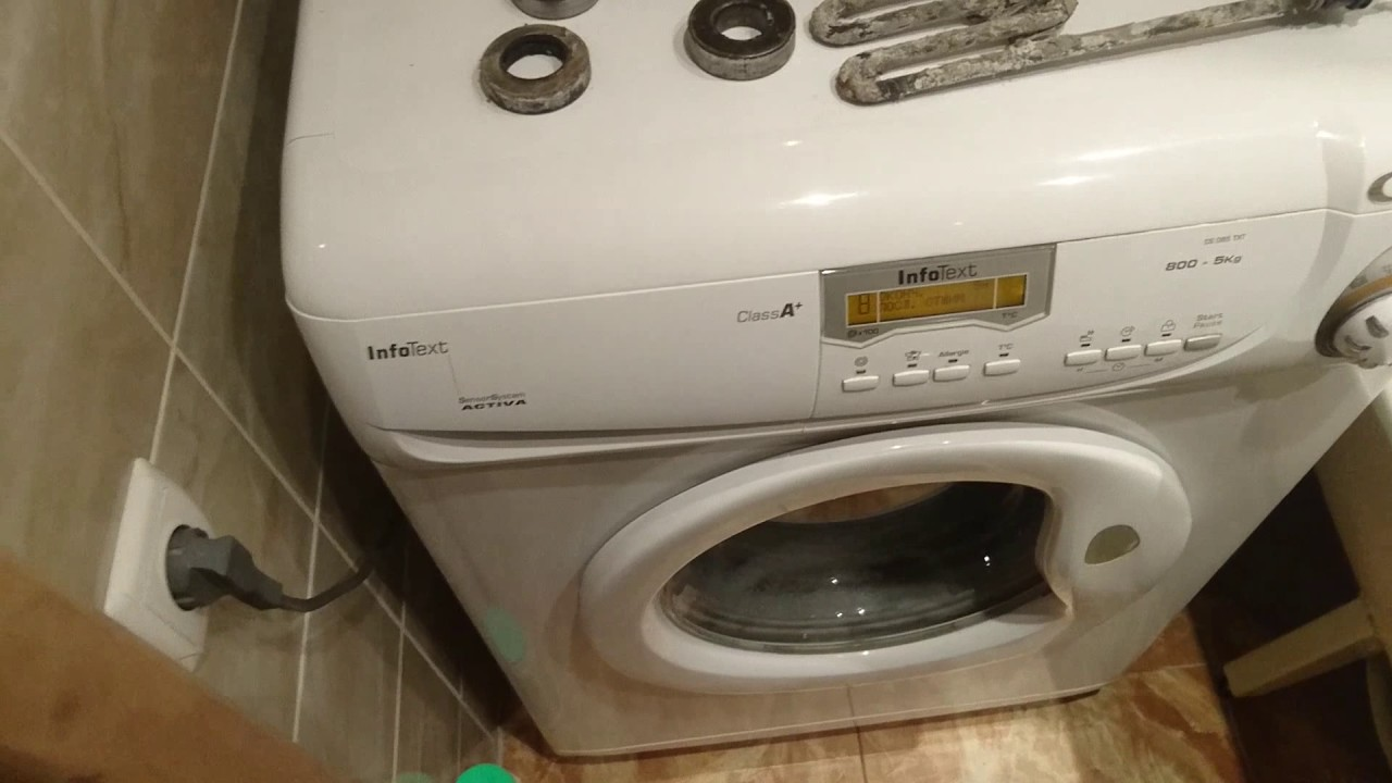 Ремонт стиральных машин канди своими руками замена подшипника 506