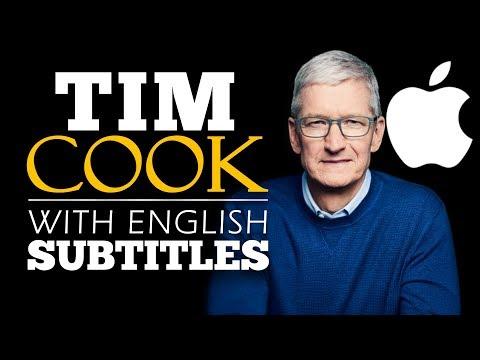 ENGLISH SPEECH | TIM COOK: Be A Builder (English Subtitles)
