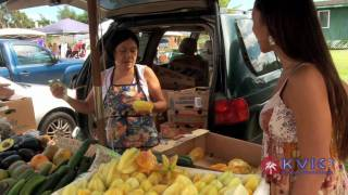 Farmer's Market in Hanalei, Kauai, HI - KVIC-TV, myKauai.com [Event]