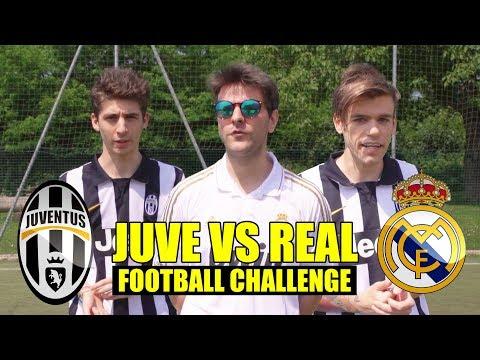 JUVENTUS VS REAL MADRID 1-4 - FOOTBALL CHALLENGE CON FAVIJ - iPantellas