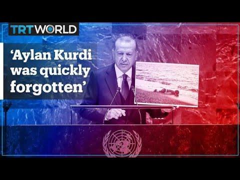 Turkey's President Erdogan speaks at 74th UN General Assembly