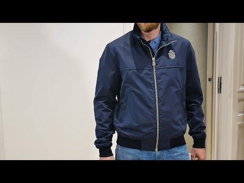 Мужская куртка Roger от Billionaire, хлопок, полиамид, Review: ID 162215