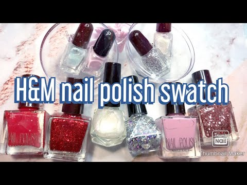 H&M nail polish review and swatch