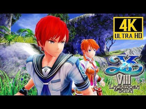 Download Youtube: Ys VIII: Lacrimosa of DANA (PS4 Pro) - 4K Gameplay @ 2160p (60ᶠᵖˢ) ✔