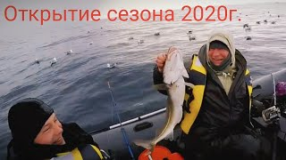 Рыбалка в Баренцевом море открытие сезона Fishing in the Barents sea opening of the season