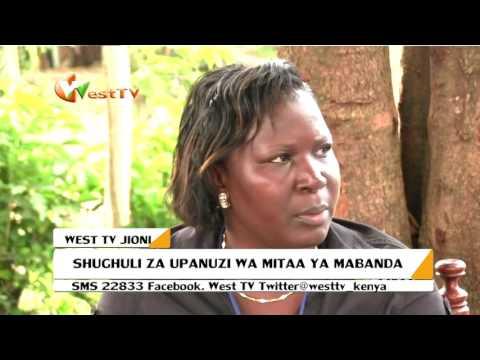 Shughuli za upanuzi wa Mitaa za Mabanda Mumias