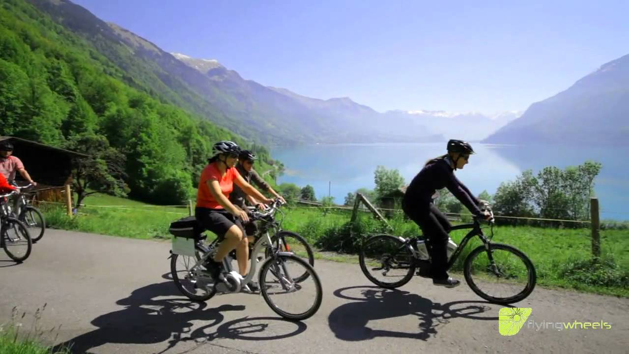 medium resolution of flying wheels interlaken guided tours with electric bikes youtube rh youtube com electric bike for two