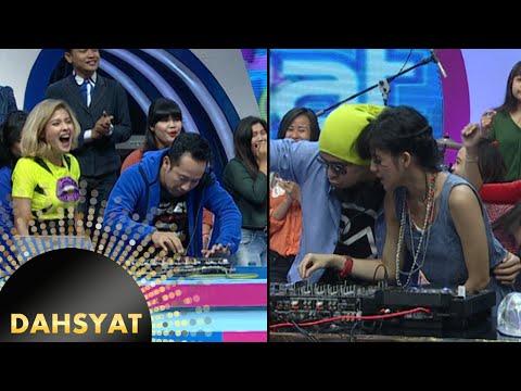 Battle DJ Una & Raffi vs DJ Jacqueline & Denny [Dahsyat] [24 Nov 2015]