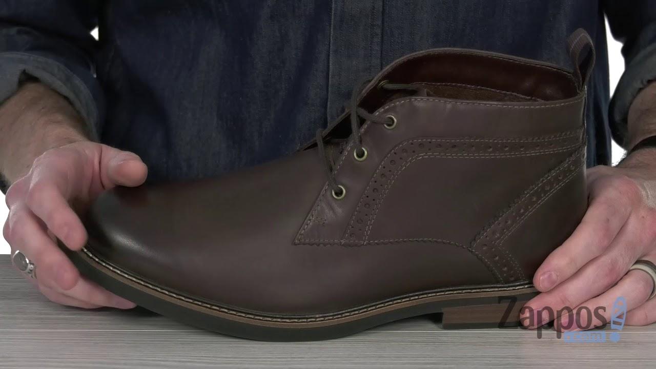 Nunn Bush Mens Lancaster Plain Toe Chukka Boot