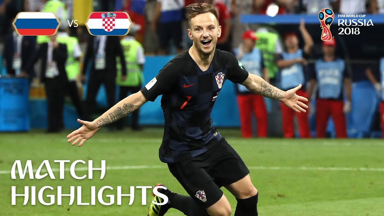 Russia v Croatia – 2018 FIFA World Cup Russia™ – Match 59