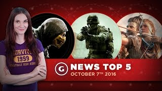 Horizon: Zero Dawn Gameplay Info & Elder Scrolls Update - GS News Top 5