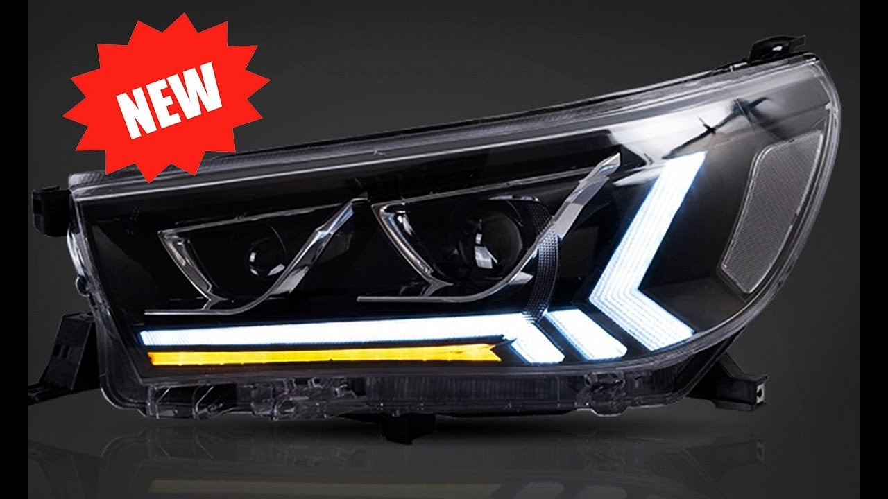 CON HILUX LED RETROFIT HEADLIGHTS LUPA TOYOTA by TodoLed vmN0wnOy8