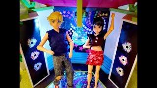Маринетт и Адриан на настоящей дискотеке со светомузыкой!!!