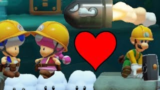Super Mario Maker 2 Multiplayer Co-op with Friends!