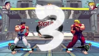 Ultra Street Fighter IV: Ryu vs Ken