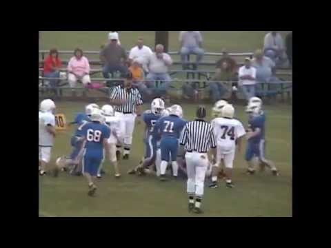 2004 Crenshaw Christian Academy Pee Wee Football Highlights