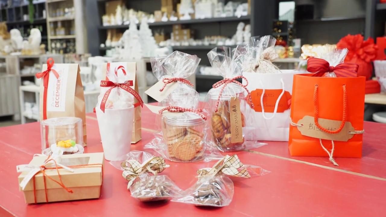 Idee Per Confezionare Biscotti Di Natale.Tendenze Natale 2017 Confezione Biscotti E Dolcetti Natalizi Youtube